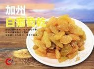 【大連食品】加州白葡萄乾 (600G/包)