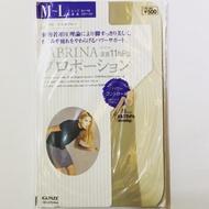 日本 GUNZE SABRINA 足首11hPa  動的著用壓理論 壓力絲襪 絲襪