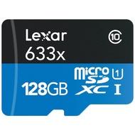 Lexar 雷克沙 High-Performance microSDXC 633x UHS-I 32G 64G 128G 256G 512G