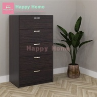 ESCOT 5 drawer chest / laci 5 tingkat / chest drawer 5 layer / chest drawer storage / chest drawer cabinet / drawer ikea