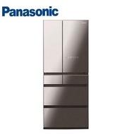 【展示品】Panasonic 650公升六門變頻玻璃冰箱 NR-F655WX-X1(鑽石黑)【福利品】                             免費標準安裝定位