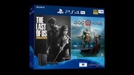 PS4 Pro 1TB (CUH-7218BB01) With 2 Controller & The Last Of Us Remastered/God Of War Game Console Bundle