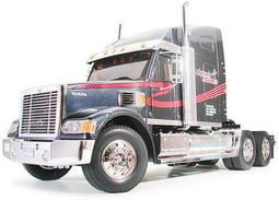 田宮TAMIYA1/14遙控貨櫃拖車頭 Tractor Truck King Haule 00#56314 黑騎士