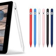 4in1 ซิลิโคนที่มีสีสัน Touch ปากกาสำหรับ Apple Pencil Case สำหรับ iPad แท็บเล็ต Stylus ฝาครอบป้องกันอุปกรณ์เสริม