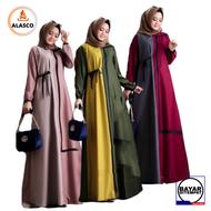 Long dress muslim simple elegan famela maxi / Fashion baju gamis casual remaja / baju Gamis wanita terbaru 2020 / Model baju gamis lebaran 2020 / Gamis Terbaru 2020 Modern Lebaran / Baju Gamis Lebaran Wanita Remaja 2020 / Baju pesta wanita muslimah modern