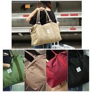 กระเป๋าถือกระเป๋าเดินทาง TRAVEL กระเป๋าถือเสริมการเดินทาง ใบใหญ่มาก น้ำหนักเบาสีสวย