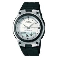 【CASIO】時尚商務雙顯腕錶-白面 (AW-80-7A)