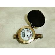 """《金來買生活館》數字水表 自來水錶 1"""" 銅製自來水表 家用水表"""