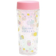 【角落生物亮粉冷水壺】角落生物 冷水壺 冷水瓶 亮粉 350ml 日本正版 該該貝比日本精品 ☆