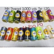 MH Sewing Thread 3000 yds per cone (Tkt. 120)