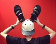 韓國 百搭 街頭 羅馬涼鞋 涼 拖鞋 厚底鞋 綁帶 涼鞋 男 涼鞋 增高 下殺超值優惠 男女 可穿 情侶