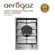 Aerogaz 30CM Stainless Steel Hob with 1 burner (AZ-162SF)