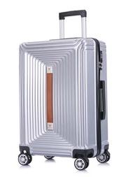 KLQDZMS 20''24Inch ผู้หญิง Retro กระเป๋าเดินทางแฟชั่นรถเข็นกระเป๋าล้อ PC ธุรกิจกระเป๋าเดินทาง
