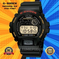 [ JAPAN SET ] Original G shock DW-6900B-9 / FOX-FIRE / DW6900