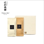 【辻利茶舗】日本茶茶葉禮盒(小倉煎茶+松印玄米茶)~日本茶鑑定士監製~最佳送禮優惠首選