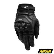 ASTONE LC-01 防摔手套 黑 短版 騎士 手套 羊皮 碳纖維防護 真皮 LC01 | 安信商城