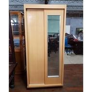 原木色3尺小衣櫥 一格二手家具 臥室實木家具 懷舊時尚