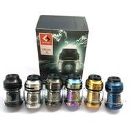 【SHIP TODAY】( Available ) Zeus X RTA 24MM Dual Coil Capacity(4.5ml) Type Single/Dual Coil RTA Bubble Glass & Straight Glass 1:1(READY STOCK)