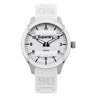 Superdry Scuba SYL120W Analog Quartz White SIlicone Womens Watch