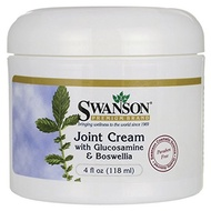 💖$1 Shop Coupon💖  Swanson Joint Cream with Glucosamine  Boswellia 4 fl Ounce (118 ml) Cream