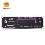 Dc 5V/12V Bluetooth 5.0 Audio Decoder Board Audio Module Usb (Black)