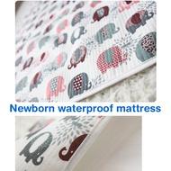 Newborn waterproof mattress / baby waterproof mat / foldable mattress / bibs / kids / infant / toddl