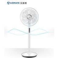 【AIRMATE 艾美特】14吋日本無刷馬達垂直仰頭立扇SA35195R(日本無刷馬達靜音)