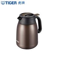 TIGER虎牌1.2L提倒式不鏽鋼保冷保溫熱水瓶PWM-B120_e深咖啡