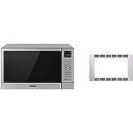 "Panasonic 27"" Microwave Trim Kit for Panasonic 1.1 cu ft Microwave Ovens – NN-TK623G (Stainless Steel)"