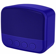 Bluetooth V5.0 Portable Speaker Wireless Handsfree Usb Tf Aux - Blue