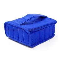 แบบพกพา 16 ขวด 15 มิลลิลิตรน้ำมันหอมระเหยกล่องเก็บกระเป๋าผู้ถือกระเป๋าเดินทาง Organizer เล็บกล่องเ...