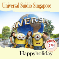 Universal Studio Singapore (USS) E-ticket