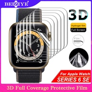3D Anti-Shock TPU (Not Glass) Full Coverage Protective Film For Apple Watch Series SE 6 5 4 40mm/44mm Screen Protector Cover for apple watch series 3 2 1 38mm 42mm