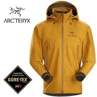 【ARCTERYX 始祖鳥 加拿大】Beta AR 透氣防水外套 防水夾克 男款 金黃棕 (L07221900)
