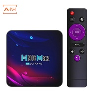 H96 Max Android 11 Smart  4K UHD for Home Video,4+64G-UK Plug