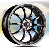 全新鋁圈 wheel HS219 16吋鋁圈 4孔100 5孔100 5孔108 勳黑電鍍.高亮銀