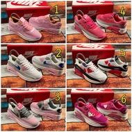 รองเท้าผ้าใบผูกเชือก รองเท้าผ้าใบเสริมส้น Nik air max90 ใส่วิ่งออกกำลังกายได้