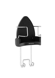 [BRABANTIA] 385742 - Wall-Mounted Iron Rest and Hanging Ironing Board Holder - Cool Gray, 385742