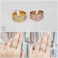 Bulgary Gem Titanium Ring