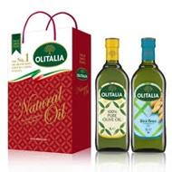 Olitalia奧利塔純橄欖油+玄米油禮盒組