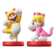 Nintendo Switch 超級瑪利歐 3D世界系列 amiibo人偶玩具