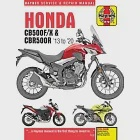 Honda Cb500f/X & Cbr500r Haynes Service & Repair Manual: 2013 to 2015
