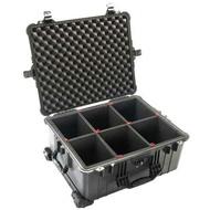 PELICAN 1610TP Case氣密箱(含TP隔板/黑色) 公司貨