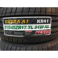 215/45/17 建大輪胎 KR41 台灣製造 2017嶄新推出新款性能胎 好抓地搶鮮搶便宜
