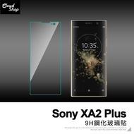 9H 鋼化玻璃 SONY XA2 Plus 6吋 手機 螢幕保護貼 防刮 防爆 鋼化 玻璃貼 半版非滿版 H06X3