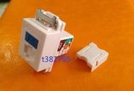 台製CAT.6資訊插座+卡式面板轉換夾(C款)~按照需求數量報價