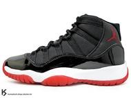 2019 經典復刻 傳奇再現 NIKE AIR JORDAN 11 RETRO GS BRED BLACK RED 大童鞋 女鞋 黑紅 23 亮皮 BULLS AJ BG (378038-061) !