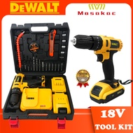 DeWALT 18V Brushless Cordless Battery Hammer Drill with 2-Batteries