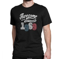 Awesome Since September 1969 T Shirt Vintage 50 Years Old 50Th Birthday Gift