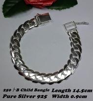 Genuine SILVER 925 Child Bangle (Bangle Untuk Budak-budak)